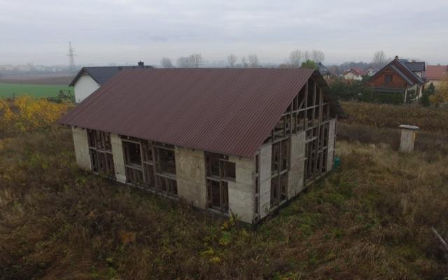 Dom szkieletowy w Wiecanowie