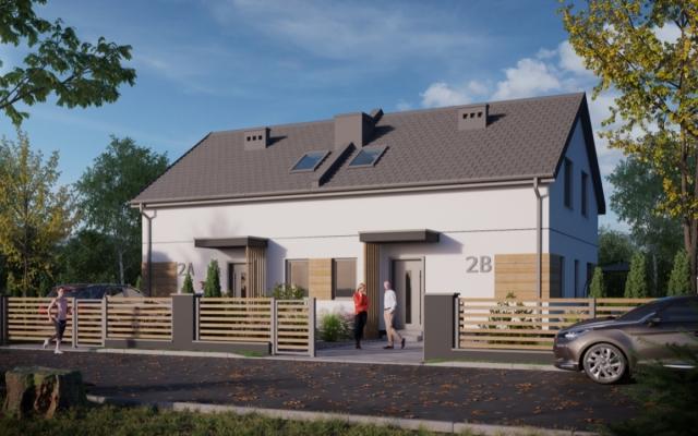 MEGA OKAZJA - 3150 zł/m2 - domy w zabudowie bliźniaczej Stawiska